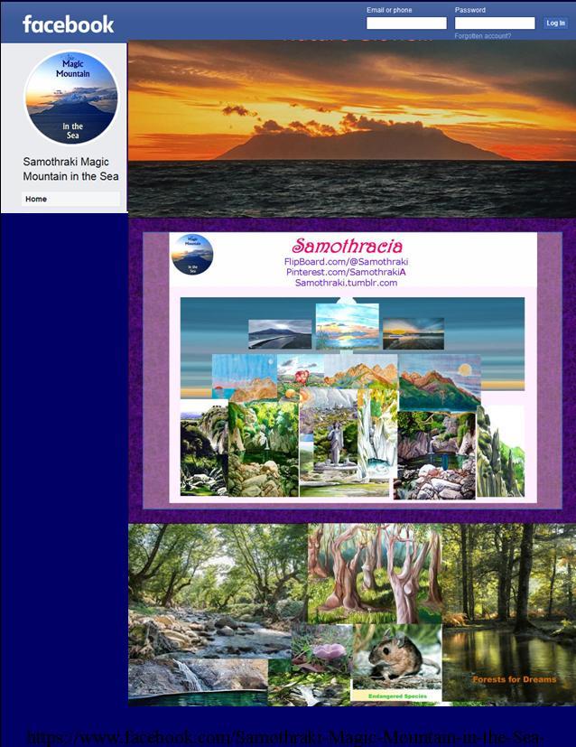 The Samothraki Travel Guide to Magic Mountain in the Sea on Facebook
