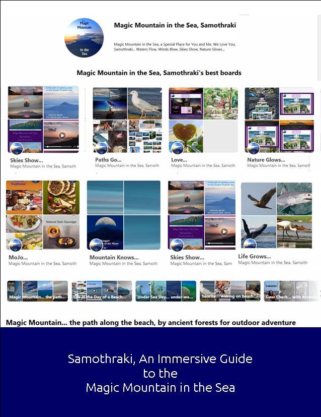 Immersive  Travel Guide to Samothraki Magic Mountain in the Sea
